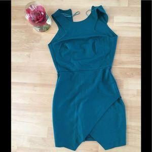 Zara blue dress.